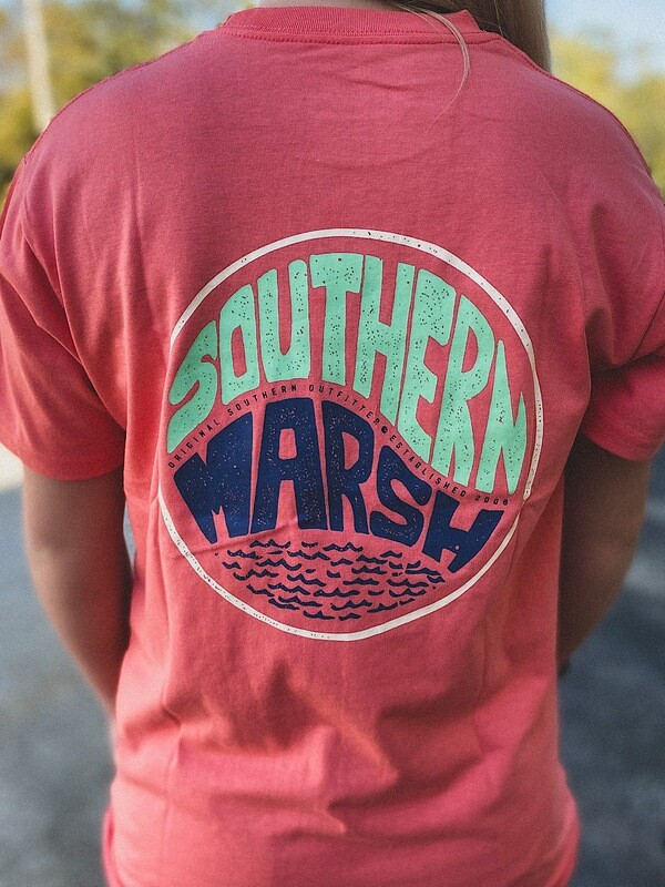 Southern Marsh Coral Riptide S/S