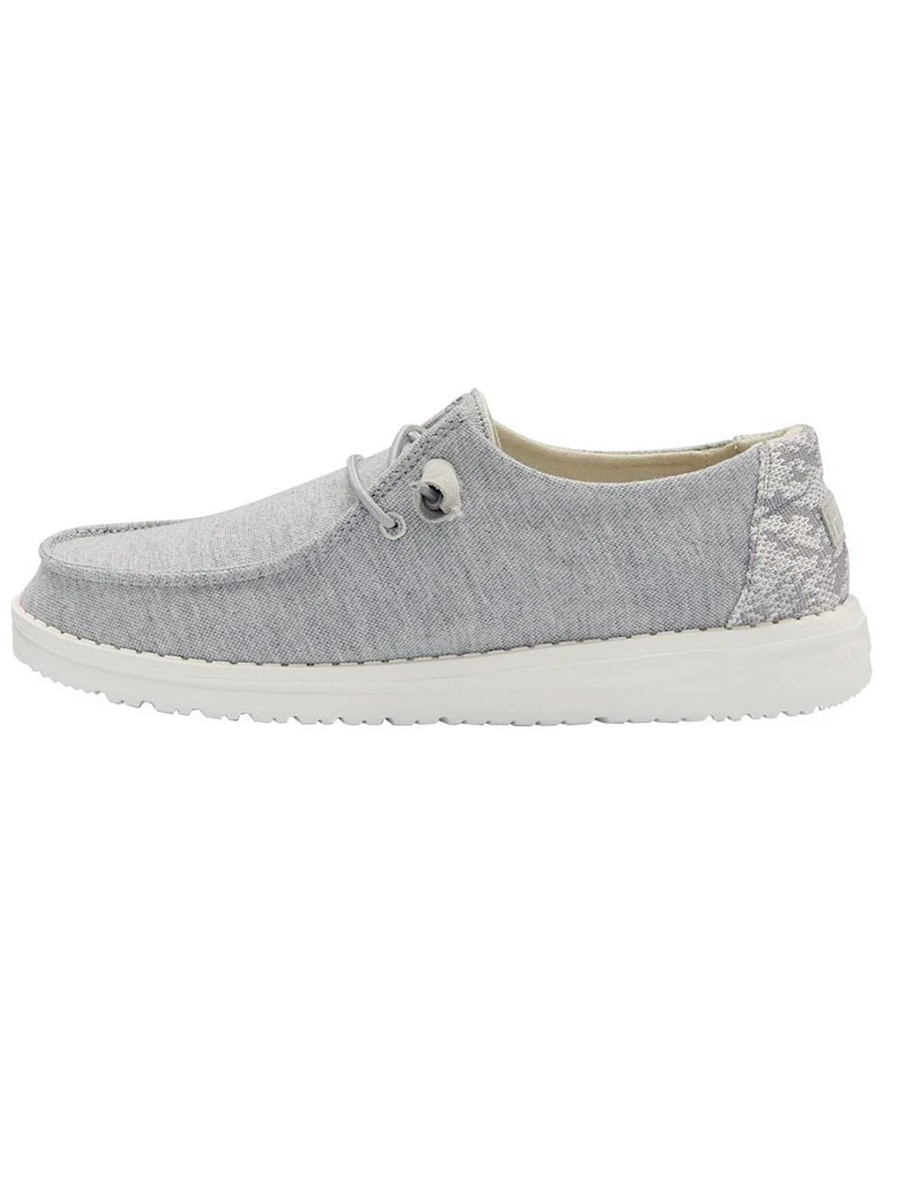 Hey Dude Wendy Stretch Fleece Glacier Gray