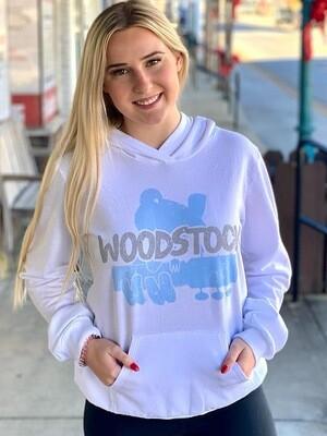 White Woodstock Hoodie
