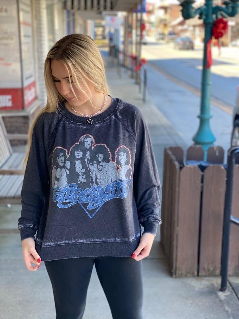 Aerosmith Black Sweatshirt MS