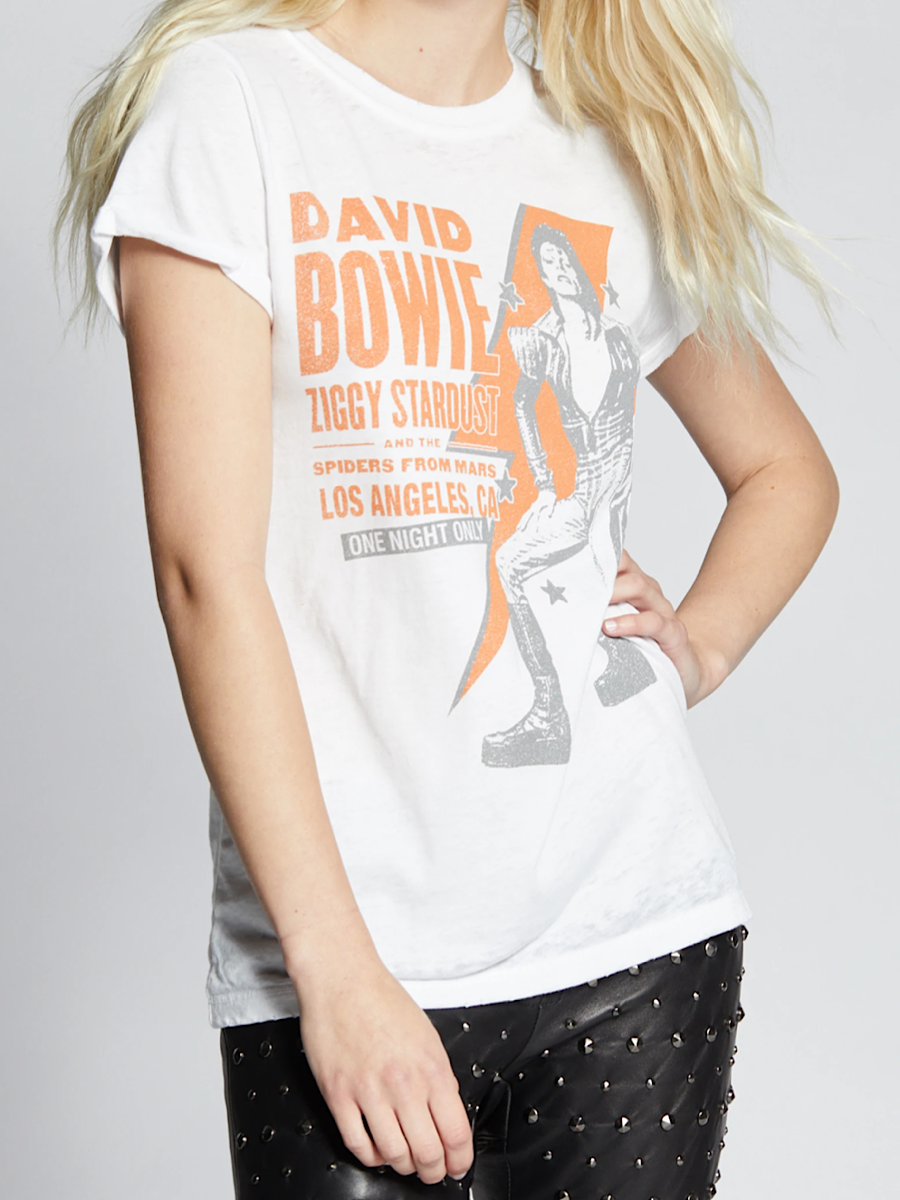 Bowie Live From Hollywood Tee