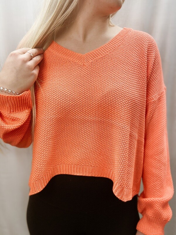 Coral VNeck Sweater WP