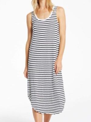 Z Supply Reverie Stripe Scoop Dress