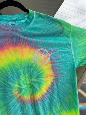 Old Row Circle Tie Dye MS