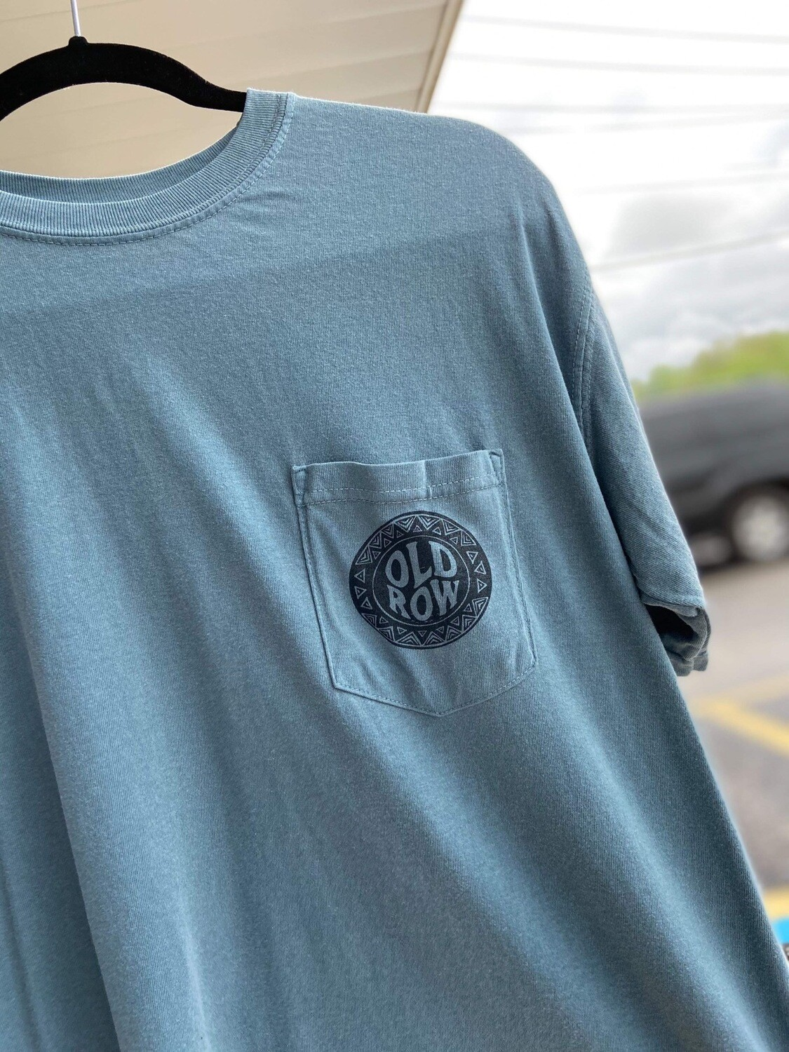 Old Row Blue Nature Tee MS