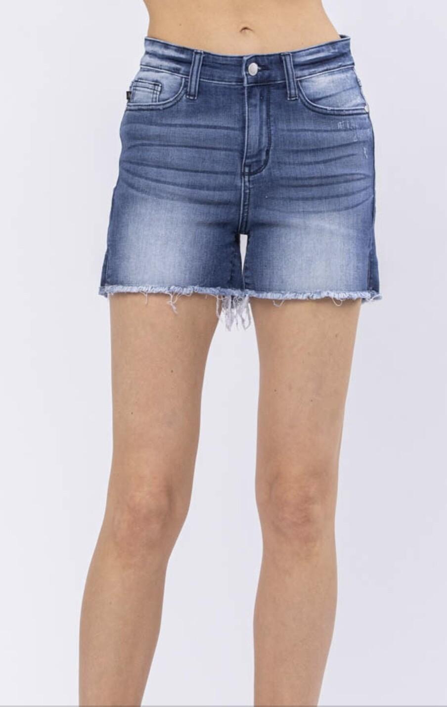 JB15228 Side Slit Slit Shorts WP