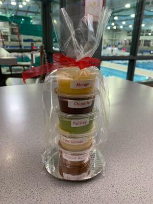 Sampler pack (5 salsas)