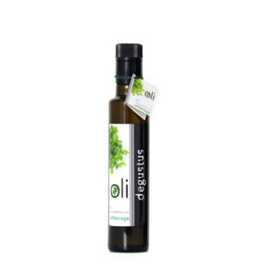 250 ml Huile d'Olive Vierge Extra au Basilic