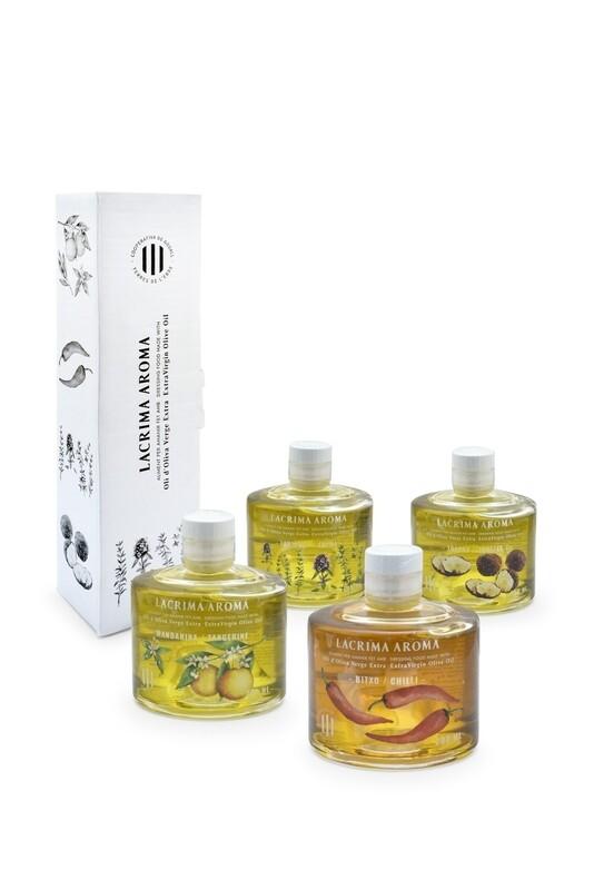 Lacrima Aroma Flavoured Olive Oils