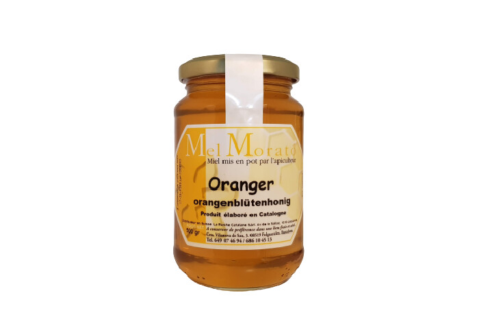 Miel de fleur d'Oranger 500gr