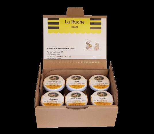 Honey Gift Box 6x50gr