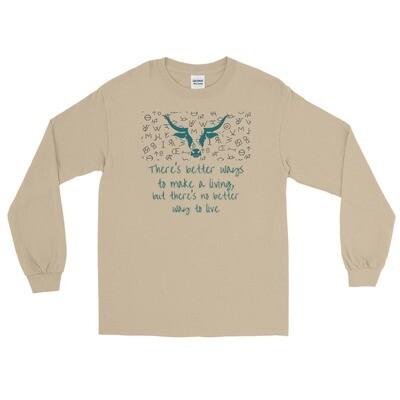 Ranch Life Men's Long Sleeve Shirt