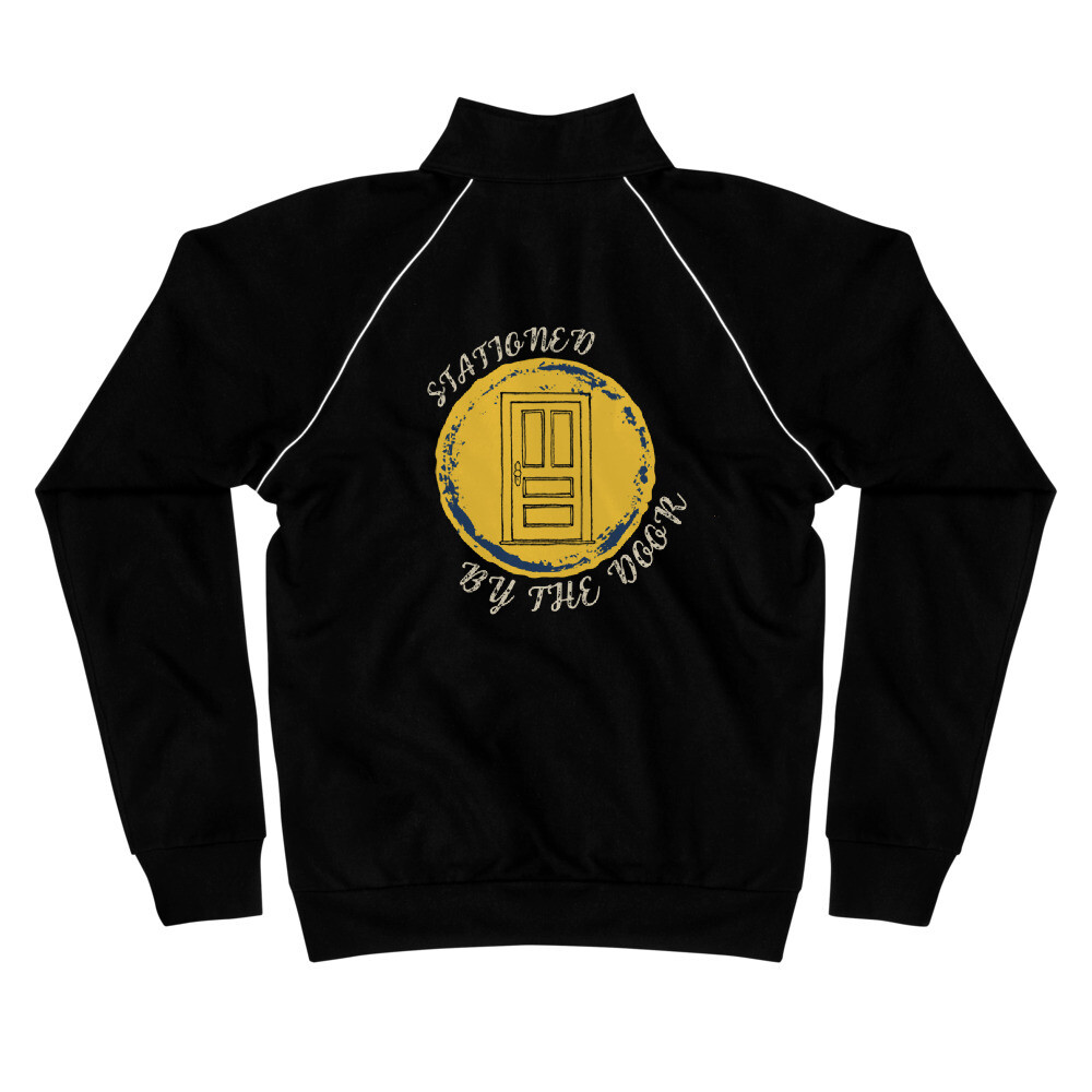 Stationed By The Door Piped Fleece Jacket