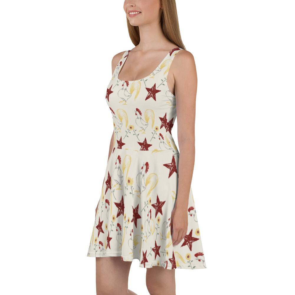 Farm Skater Dress