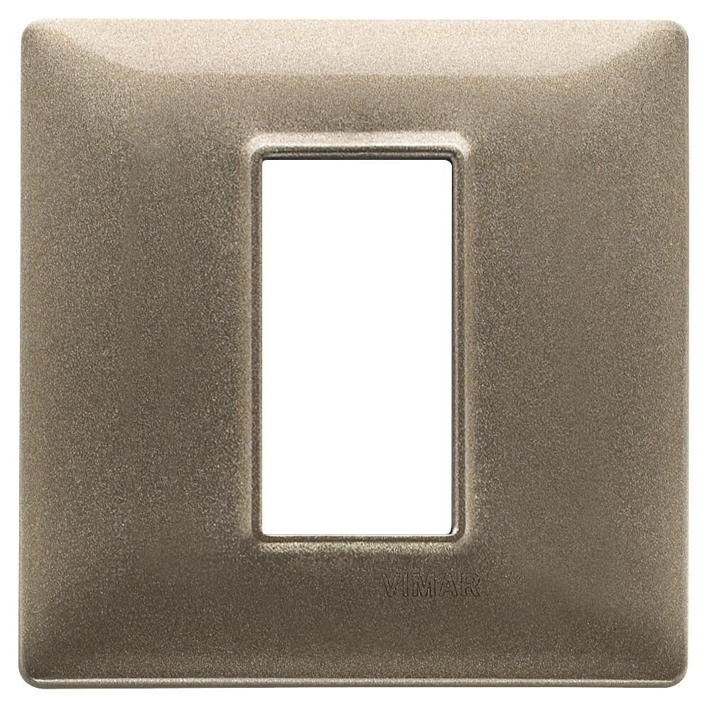 Накладка для 1 модуля бронза металлизированная