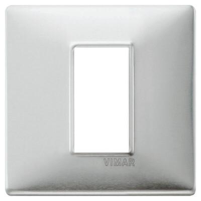 Накладка для 1 модуля зашкуренный алюминий