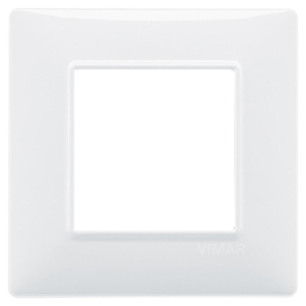 Накладка для 2 модулей белая