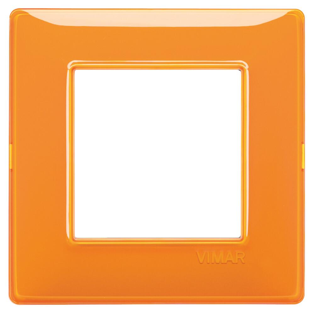 Накладка для 2 модулей Reflex оранжевая