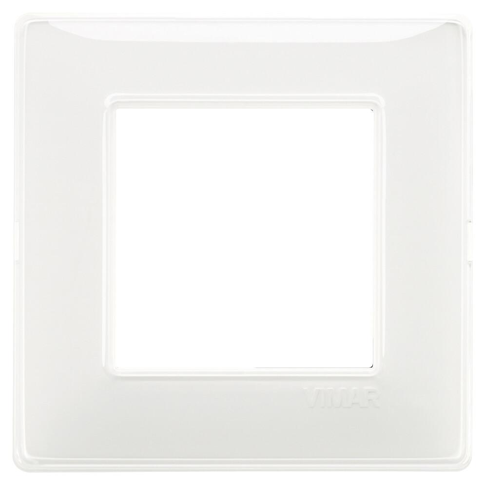 Накладка для 2 модулей Reflex снежная