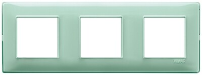 Накладка для 6 модулей (2+2+2) расстояние между центрами 71мм Reflex