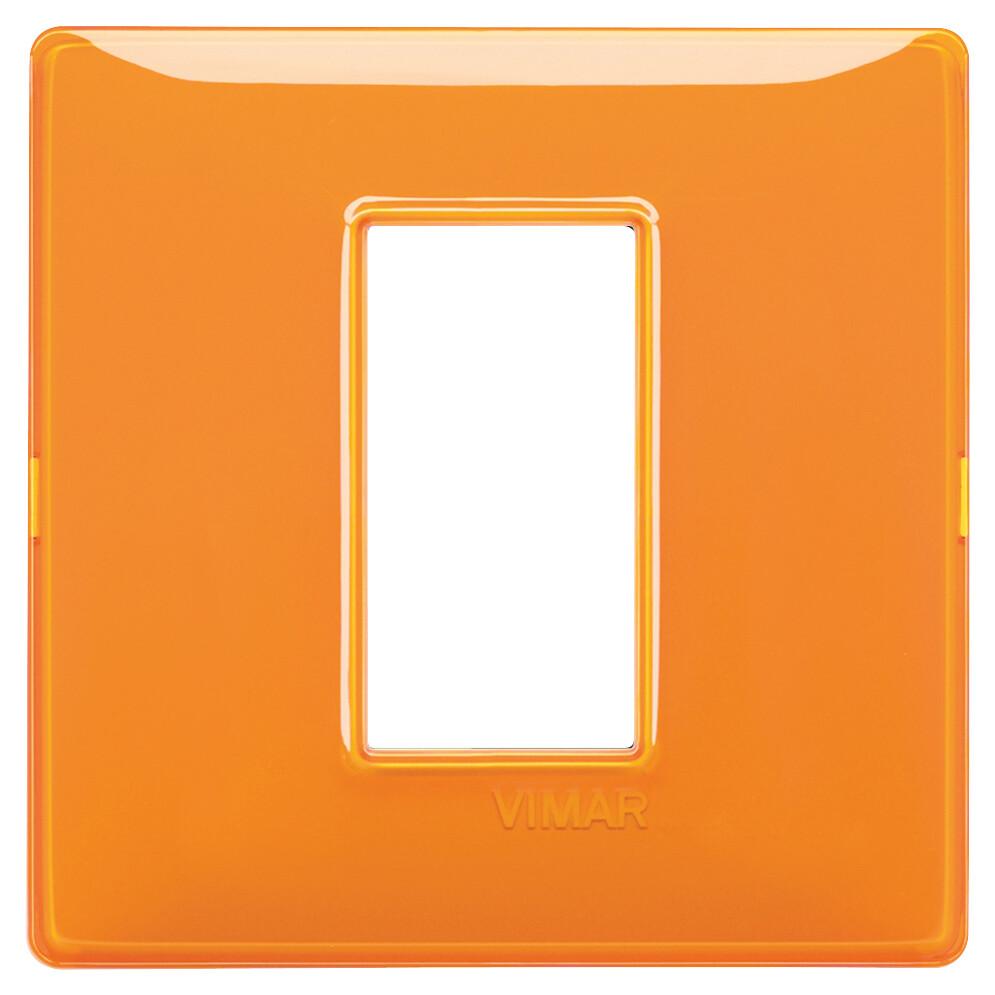 Накладка для 1 модуля Reflex оранжевая
