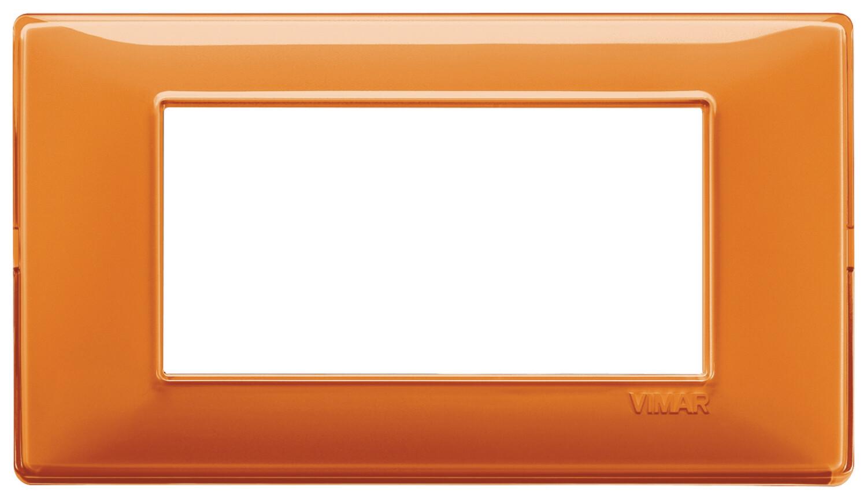 "Накладка для 4 модулей Reflex ""апельсин"""