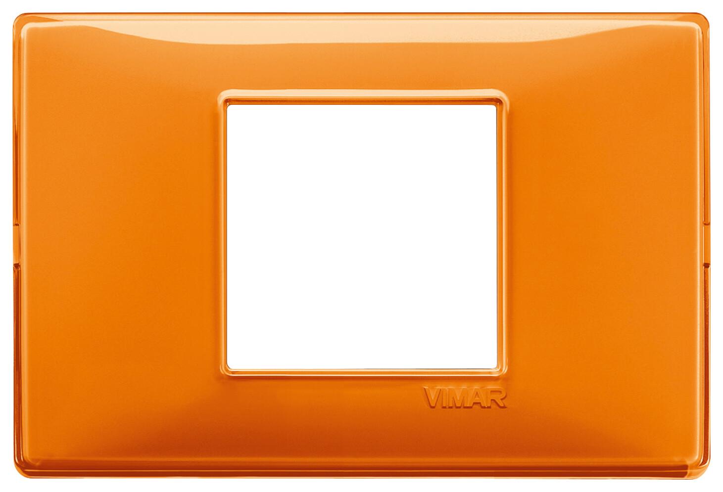 """Накладка для 2 модулей центрально Reflex """"апельсин"""""""