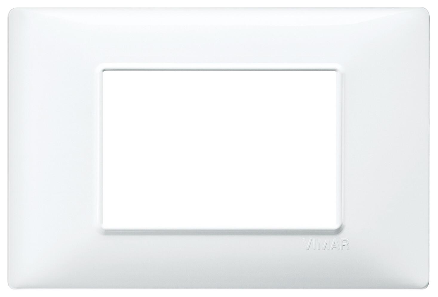 Накладка для 3 модулей белая