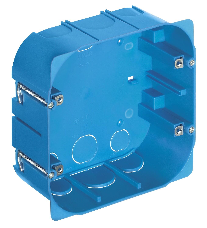 Коробка встраиваемая на 8 модулей для тонких перегородок