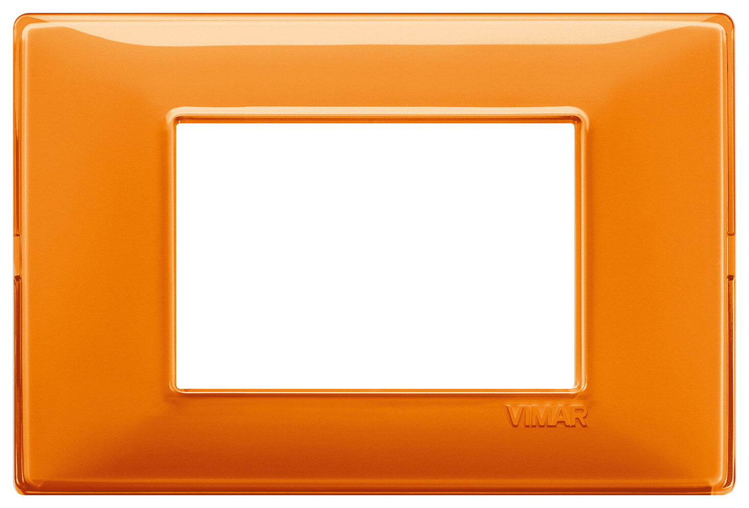 "Накладка для 3 модулей Reflex ""апельсин"""