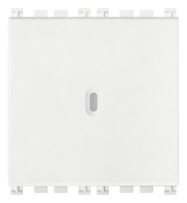 Переключатель 1P осевой 16AX 2M, белый