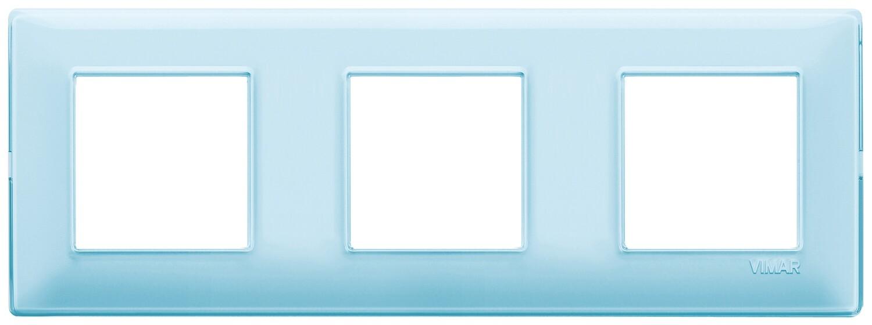 "Накладка для 6 модулей (2+2+2) расстояние между центрами 71мм Reflex ""вода"""