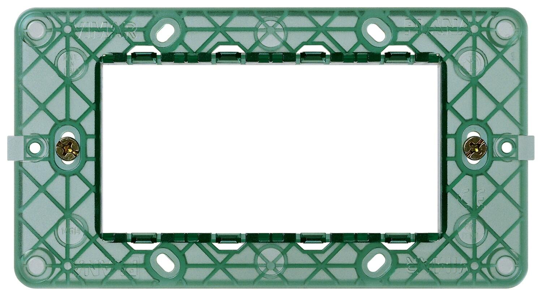 Суппорт для 4 модулей с винтами