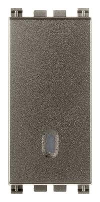Переключатель с 4-мя контактами ( инвертор ) 1p 16ax, metal