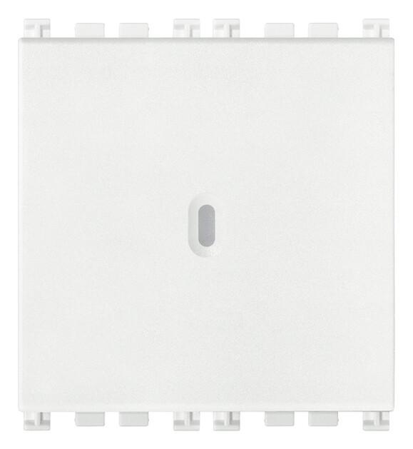 Выключатель 1P осевой 16AX 2M, белый