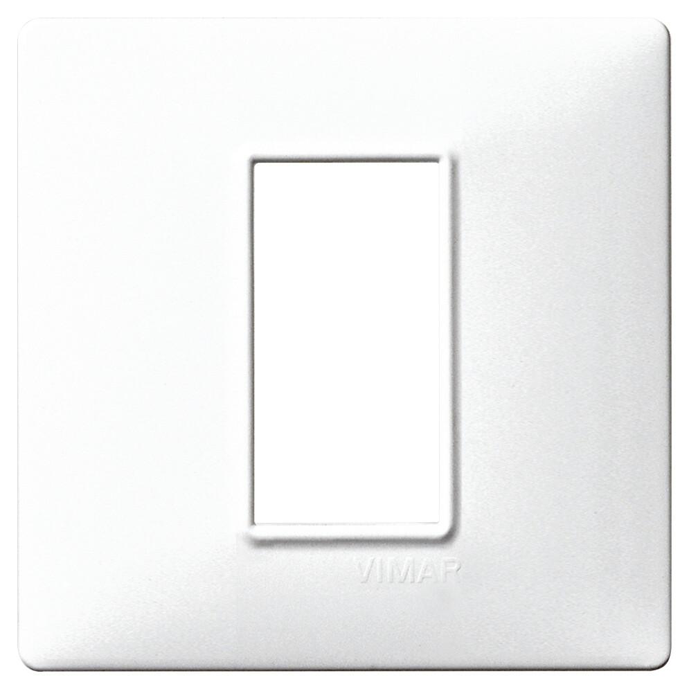 Накладка для 1 модуля белая