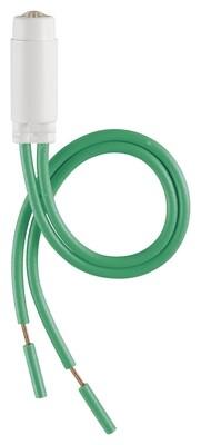 Светодиод для подсветок 110-250V 0,5W зеленый
