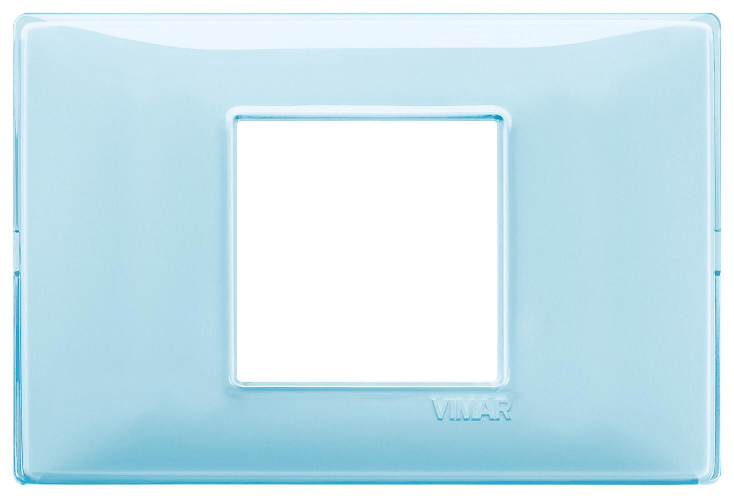 "Накладка для 2 модулей центрально Reflex ""вода"""