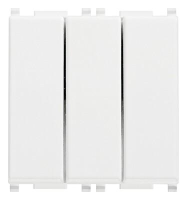 Выключатель тройной 1p 20ax белый