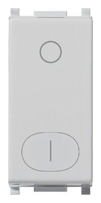 Выключатель 2p 16ax, серебро