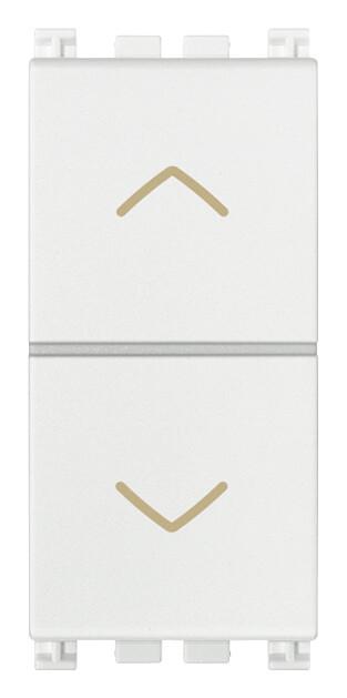 Переключатель 2P 10AX, белый