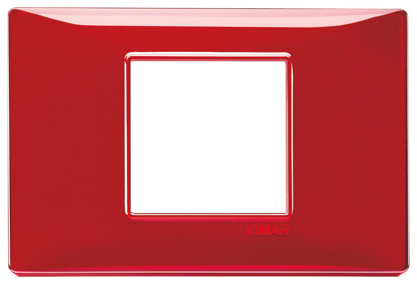 """Накладка для 2 модулей центрально Reflex """"рубин"""""""