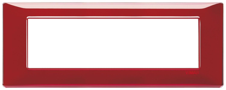 """Накладка для 7 модулей Reflex """"рубин"""""""