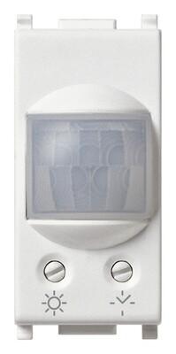 Выключатель NO 6А 230V с инфракрасным сенсором и таймером на 1 модуль, белый