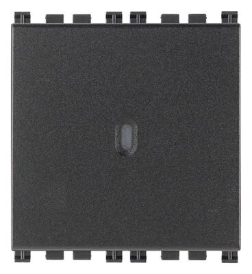 Переключатель с 4-мя контактами ( инвертор ) 1P осевой 16AX  2M, серый