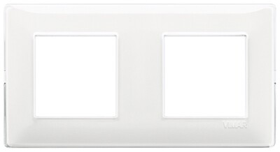 Накладка для 4 модулей (2+2) расстояние между центрами 71мм Reflex снежная