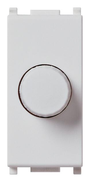 Регулятор 100 - 500w поворотный, серебро