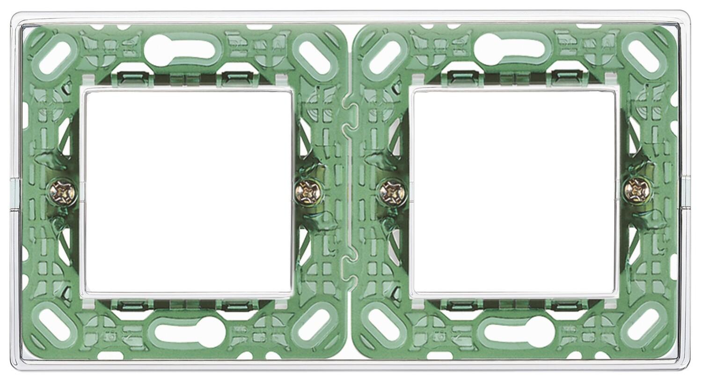 Накладка для 4 модулей (2+2) расстояние между центрами 71мм Reflex воздушная