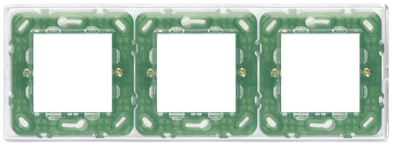 Накладка для 6 модулей (2+2+2) расстояние между центрами 71мм Reflex воздушная