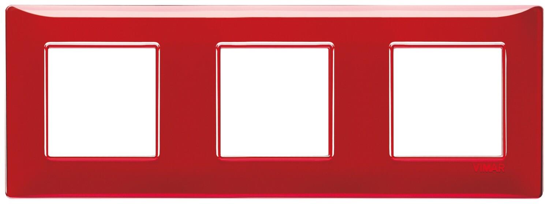 "Накладка для 6 модулей (2+2+2) расстояние между центрами 71мм Reflex ""рубин"""